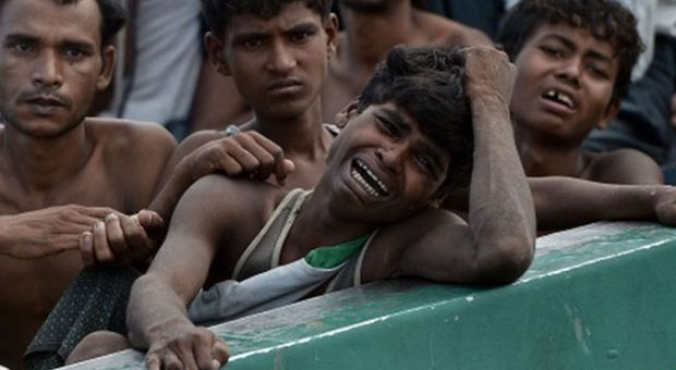 Rohingya Muslims have no protector