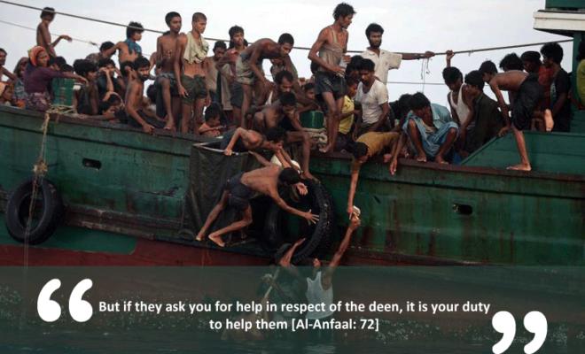 Rohingya Muslims Boat