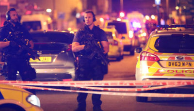 Finsbury Park Mosque Attack Police Cordon